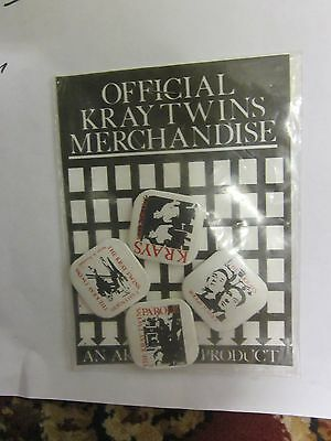 The Krays Collectable Button Badges