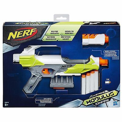 Nerf N-Strike Modulus Ionfire. Build Your Own Blaster B4618 *brand New In Box*