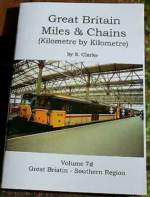 Great Britain Miles & Chains vol 7d - Southern Region