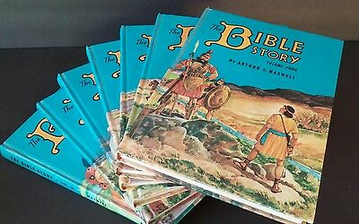 The Bible Story.  Illustrated Children's Bible Story Set Volumes 4-10 English