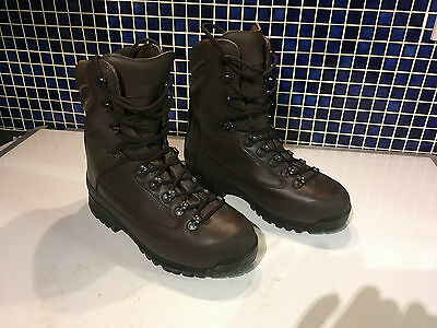 NEW Karrimor SF Gore-tex Brown Military Combat Army Boots size 9m