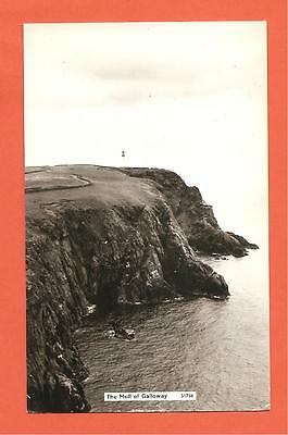 The Mull of Galloway, Wigtownshire, Scotland. Postcard.