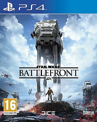Star Wars Battlefront PS4 SONY PLAYSTATION Brand New & Sealed