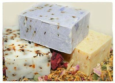 Hibiscus and Lavender with Goat Milk Rebatch Soap Making...Mold, silicone, molds