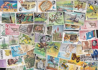 LESOTHO 45 different lot