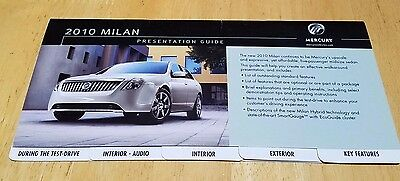 2010 Mercury Milan Presentation Guide + Hybrid