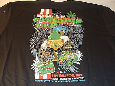 1St High Times U.s. Seattle Cannabis Cup T-Shirt Sold Only At Event Size Xl New
