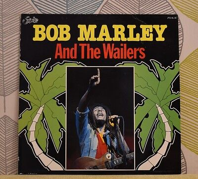 BOB MARLEY & THE WAILERS - Soul Captives [Vinyl LP] Belgium Import JTU AL 33 EXC