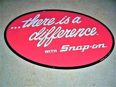 Snap On Tools There Is A Difference Snap On Tool Metal Sign New