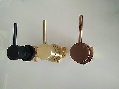 NEW Handle up Rose Gold Burnished Gold Matt Black Brass wall mixer tap faucet
