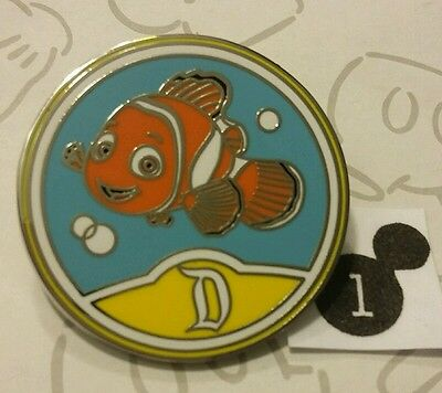 Finding Nemo Circle Icon D Disneyland Resort Mystery Collection DLR Disney Pin