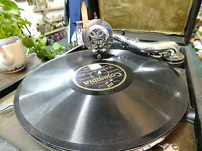Vintage Columbia Viva-Tonal Grafonola Magic Note  1928 Working