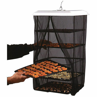 Food Pantrie Solar Dehydrator By Handy Pantry - 5 Tray / Non-Electric  Dryer