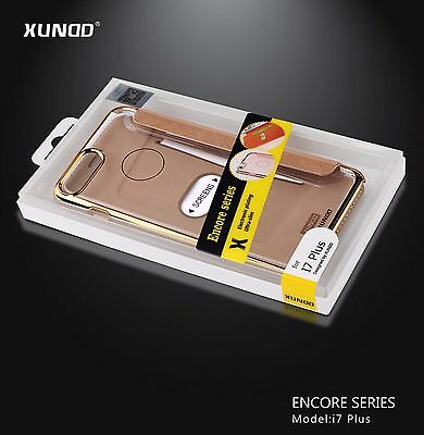 2 Pcs of  XUNDD Encore Series Leather Case of iphone 7 Plus for $27 only