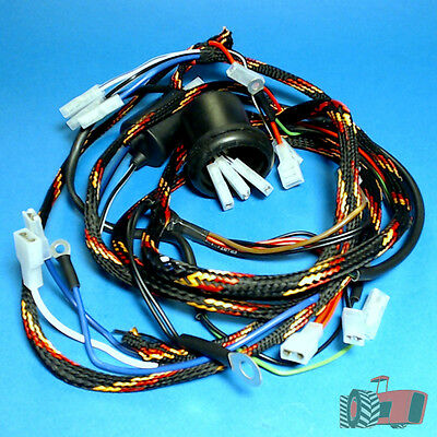 WHN5906 Wiring Loom Harness Massey Ferguson 175 185 Tractor & MF 165 with RH Exh