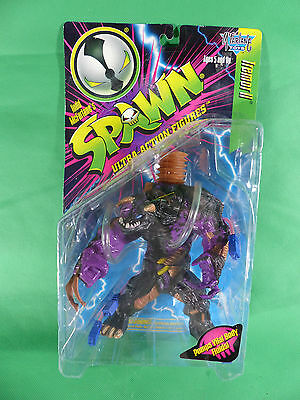 McFarlane Spawn - Tremor II purple -- MOC - NOS