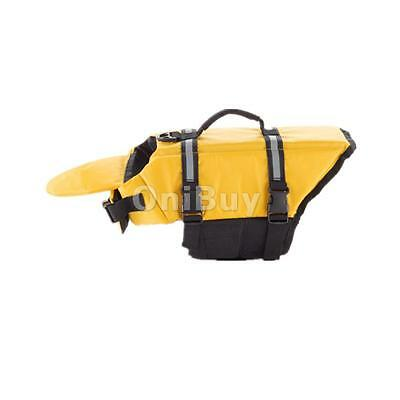 PET PRESERVER Guardian Gear Dog Life Vest Jacket Aquatic Safety Yellow S