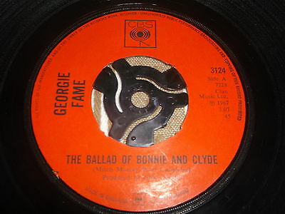 """Georgie Fame - The Ballad Of Bonnie And Clyde (7"""" Single)"""