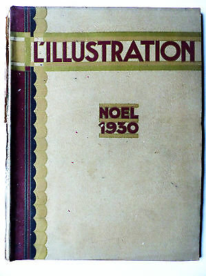 L ' ILLUSTRATION Special  NOEL 1930