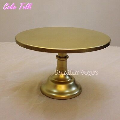 12 Inch/ 30cm Diameter  Gold Iron Metal Cake Stand  For Wedding, Birthday