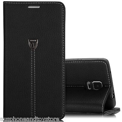 2 Pcs - Genuine Xundd Leather Case for Galaxy Note 4 in Retail Packaging for $27