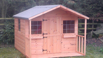 SHEDRITES childrens top quality wooden wendy houses