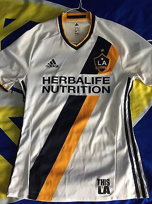 Authentic LA Galaxy Home Soccer MLS Jersey