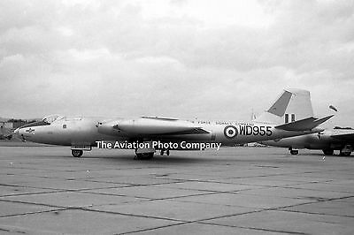 RAF 246 Sqn English Electric Canberra B.2 WD955 at Tangmere (1961) Photo