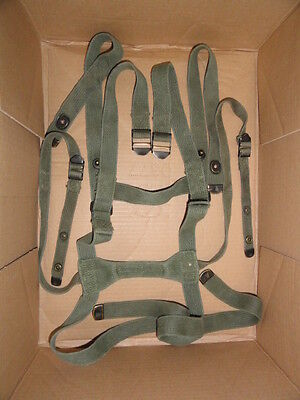 Us Army Sleeping Bag Carrier Complete Vietnam M1956 Suspenders Special Forces Od