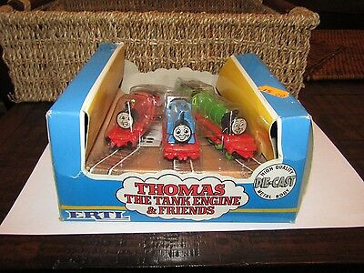 Vintage 1984 ERTL Thomas the Tank Engine & Friends with Stickers RARE