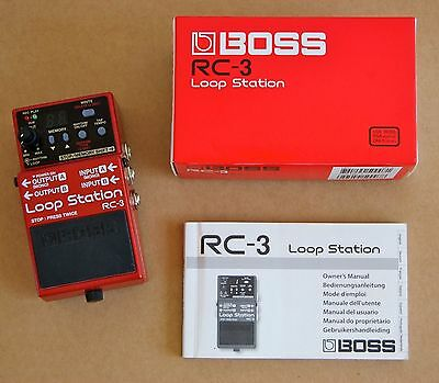 BOSS RC3 LOOP STATION USB 2.0 EFFETTO A PEDALE PER CHITARRA E BASSO Offerta