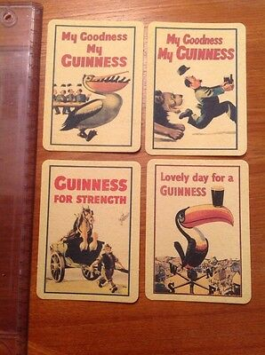 Guinness Guiness Guinnes Coasters / Beer Mats Collectible