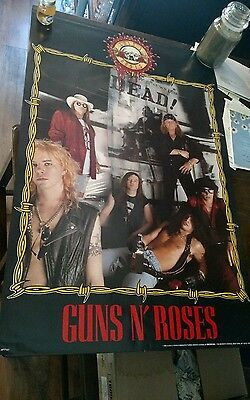 Guns N' Roses Poster Group Shot 22x34 And 'N