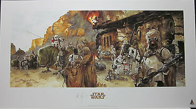 Incident on the Jundland Wastes by Dave Dorman Signed Artist Proof Print