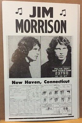 Jim Morrison Wanted Poster (14x22)