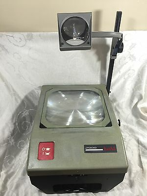 Vintage Buhl 2900 Overhead Transparency Projector Working