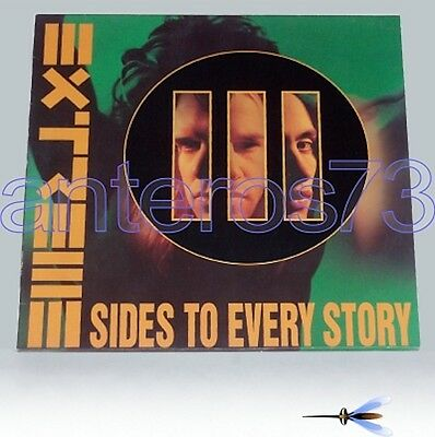 """Extreme """"iii Sides To Every Story"""" Rare 2 Lp 1992- Mint"""