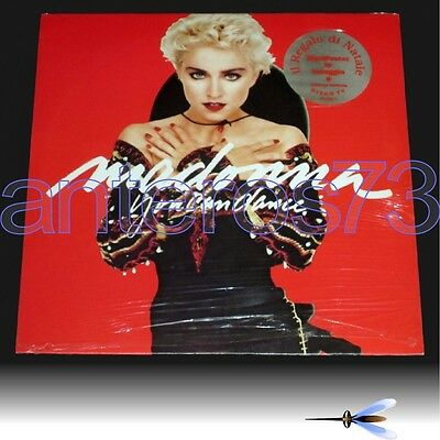 """Madonna """"you Can Dance"""" Rare Lp Limited Edition + Poster Made In Italy - Sealed"""