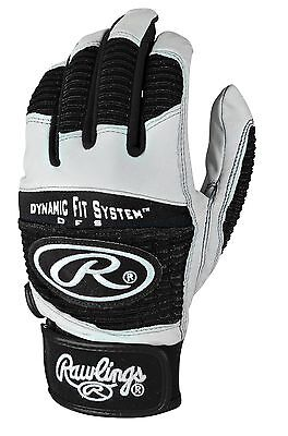 Rawlings Workhorse Adult Batting Gloves Black Small