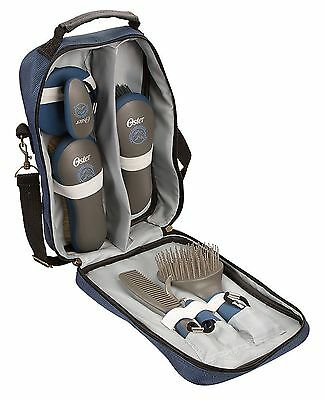 Oster Equine Care Series 7-Piece Grooming Kit Blue