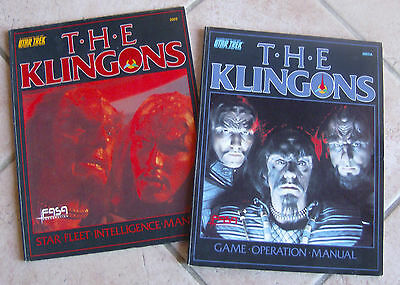 The Klingons - Star Trek Role Playing Expansion Rpg Gioco Di Ruolo