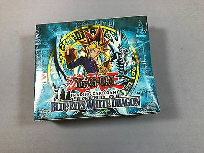 1st Edition Sealed Legend of Blue Eyes Booster Box LOB YuGiOh USA