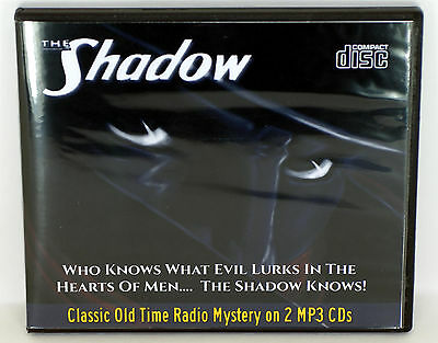 The Shadow Radio Program -Old Time Radio - All Known Episodes -  2 CD w/Case