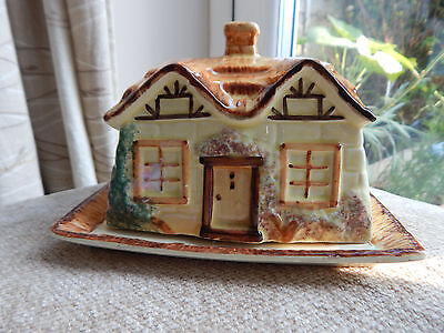 Vintage Cottage Ware Butter / Cheese Dish Made by Paramount Pottery England