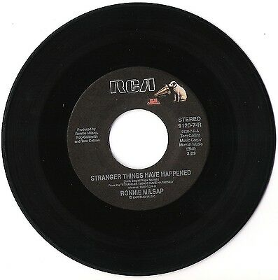 Ronnie Milsap Stranger things have happened Southern roots 1990 RCA Nipper Singl