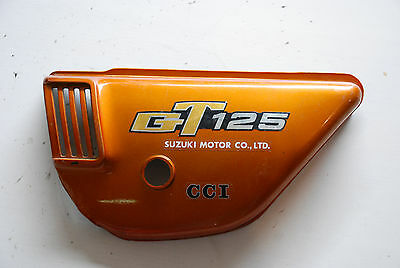 Suzuki Gt 125 Cache Lateral Gauche  Left Side Cover
