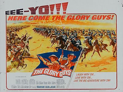 """The Glory Guys 16"""" x 12"""" Reproduction Movie Poster Photograph"""