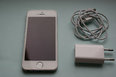 APPLE Iphone 5s 32 GB Silver-White !!!Gut!!!
