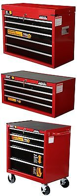 Halfords Professional Tool Box Chest Set - Roll Cab / Intermediate / Top Box