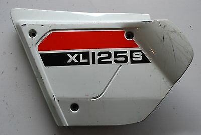 Honda Xl 125 S  Cache Lateral Gauche Left   Side Cover